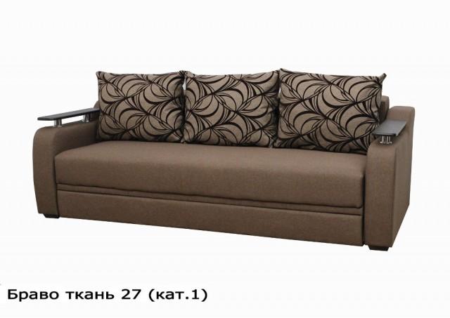 Диван Браво № 27 светло-коричневый
