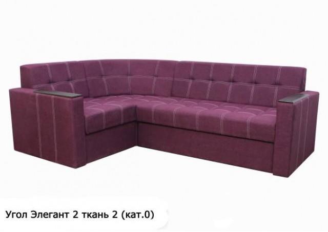 Угловой диван Элегант 2 ткань № 2 категория 0